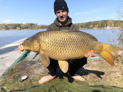 95cm, 15kg, boilies Black and White